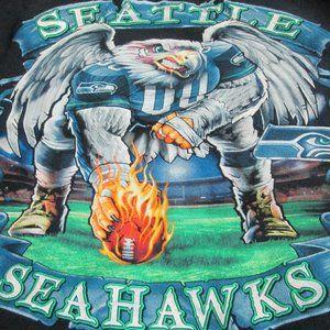 NFL SEATTLE SEAHAWKS SWEATSHIRT SIZE LARGE
